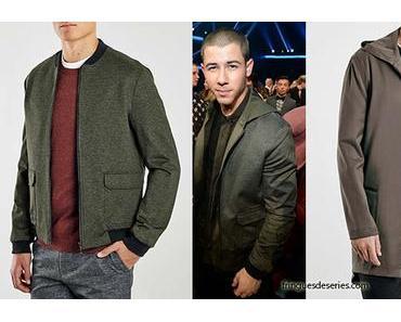 AMA : Nick Jonas wearing 2 Topman jackets