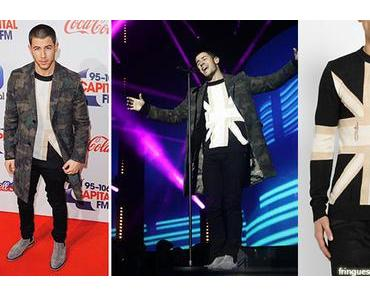 STYLE : Nick Jonas in Balmain and Valentino