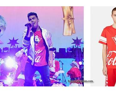 STYLE : Joe Jonas with Opening Ceremony X Coca Cola tee