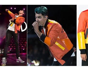 STYLE : Joe Jonas wearing a Christopher Raeburn Bomber jacket