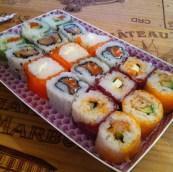 On fête ça avec des sushis !