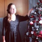 Ma robe à paillettes est sur le blog