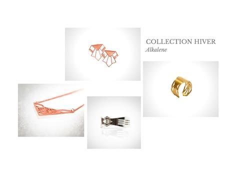 bijoux alkelene collection geometrique