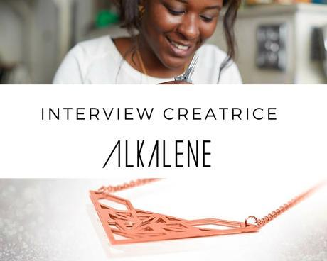 interview creatrice bijoux alkalene