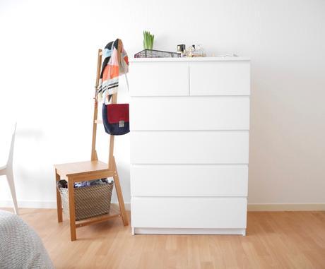 meubler et d corer une chambre blanche. Black Bedroom Furniture Sets. Home Design Ideas