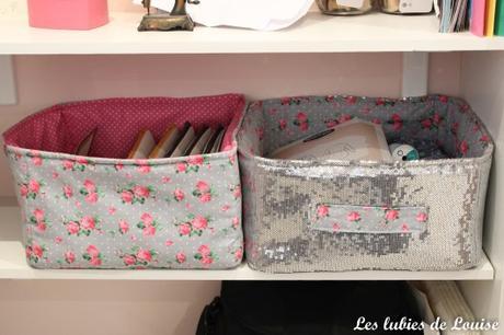 cousez vos paniers en tissu diy. Black Bedroom Furniture Sets. Home Design Ideas