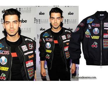 STYLE : Joe Jonas in Las Vegas with a GCDS bomber jacket