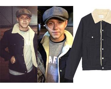 STYLE : Niall Horan with a Sandro jacket