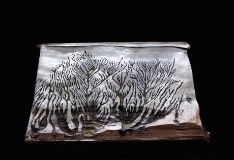 guy-laramee-livre-sculpture-paysage-montagne
