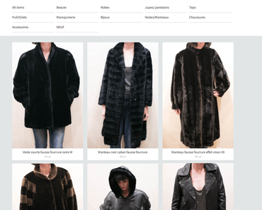 Grand vide-dressing en ligne
