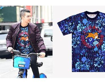 STYLE  : Joe Jonas with a great Kenzo x H&M tee