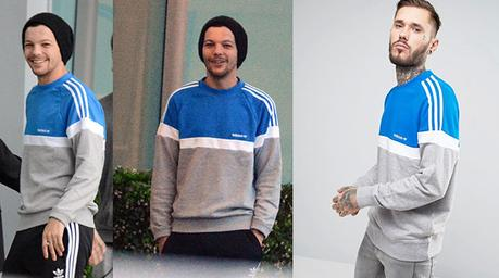 louis tomlinson adidas sweatshirt