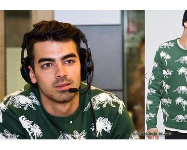 STYLE : Joe Jonas and the lovely triceratops