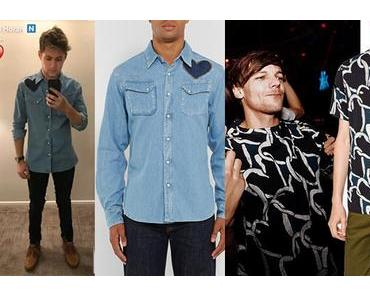 STYLE : Niall Horan and Louis Tomlinson wear the heart on the chest