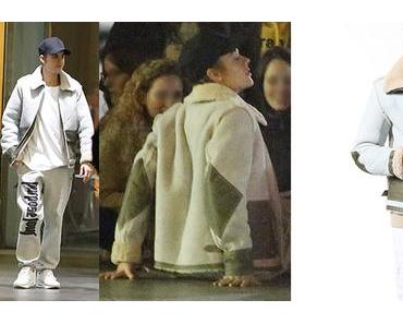 STYLE : Justin Bieber wearing a Diesel jacket in Barcelona