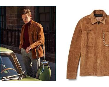 STYLE : Matt Smith so 'classe' in in an Acne Studios suede jacket