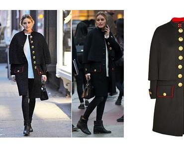 STYLE : a military cape for the autumn like Olivia Palermo