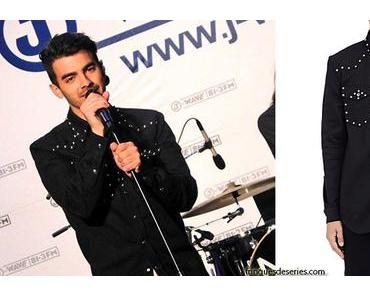 STYLE : Joe Jonas singing in Tokyo with a Givenchy western shirt
