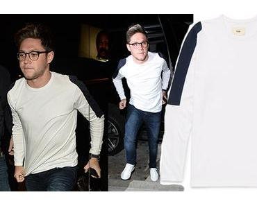 STYLE : Niall Horan with a FOLK t-shirt designed for Mr Porter
