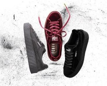 RIHANNA x PUMA: THE CREEPER VELVET PACK