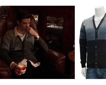 THE FLASH : Barry Allen (Grant Gustin) with a Diesel cardigan in s3ep09
