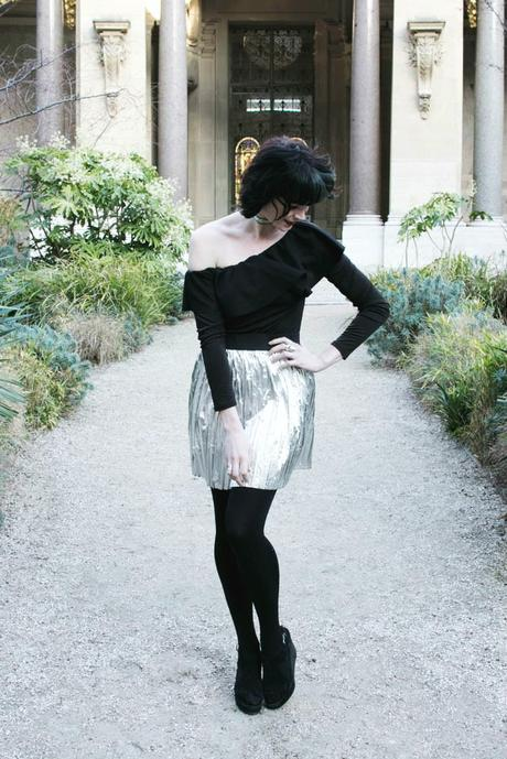 black-and-silver-outfit