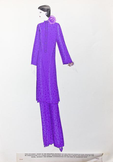 L'élégance dessinée de Marc Bohan pour Dior