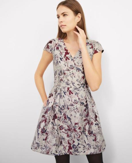 COUP DE COEUR: la robe jarquard de Comptoir des cotonniers