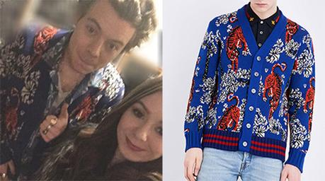 CHRISTMAS 2016 : Harry Styles in Gucci