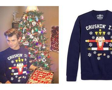Christmas 2016 : Garett Clayton and the nutcracker sweater