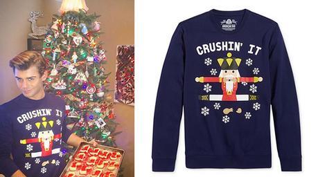 Christmas 2016 : Garett Clayton and the nutcracker sweater