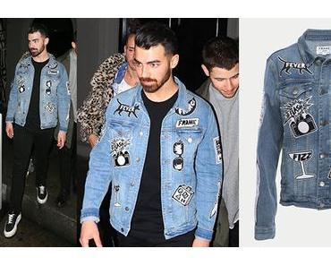 STYLE : Joe Jonas and a Frame LE ORIGINAL PATCH JACKET