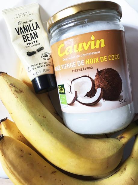 Foodism cuisiner avec cauvin le g teau la banane - Cuisiner avec l huile de coco ...