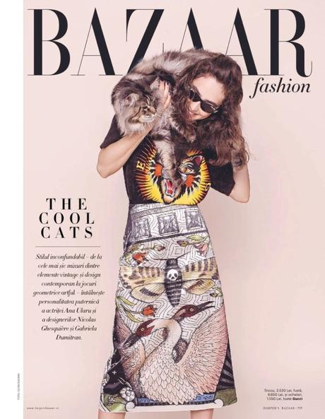 Harpers's Bazaar Roumanie Mai 2017