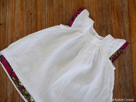 {DIY Robe} Customisation de robe de bébé avec du ruban
