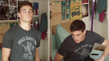 DEMAIN NOUS APPARTIENT : Maxime sèche les cours avec un nouveau t-shirt Hartford dans l'épisode 37