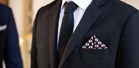 8 façons de plier une pochette de costume