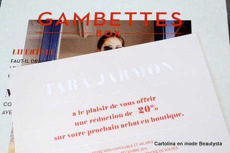 La Gambettes Box x Tara Jarmon