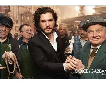 PUB : Les acteurs de Game of Thrones se parfument avec du Dolce & Gabbana