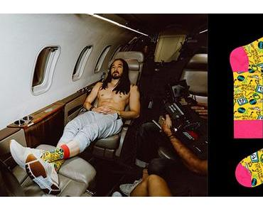 STYLE : Steve Aoki, so happy in socks