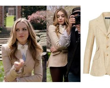 DYNASTY : Hacking Blazer worn by Fallon Carrington in s1ep01