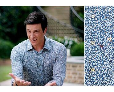 DYNASTY : Steven Carrington, in a floral shirt in s1ep03
