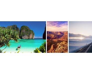 Mes destinations de rêve