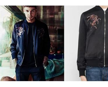STYLE : Liam Payne, Bella Thorne and a McQueen bomber jacket