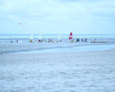 Sur la plage du Touquet