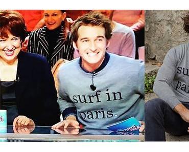 STYLE : Jérémy Charbonnel surfe à Paris