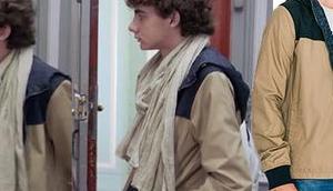DEMAIN NOUS APPARTIENT Lucas Lazzari veste d'automne dans l'épisode