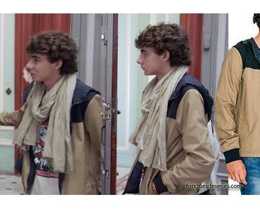 DEMAIN NOUS APPARTIENT : Lucas Lazzari et sa veste d'automne dans l'épisode 91