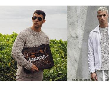 STYLE : Nick Jonas in Perry Ellis sweater