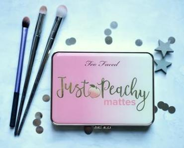 Tutoriel avec la palette Just Peachy mattes Too Faced